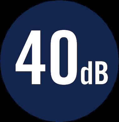 40 dB