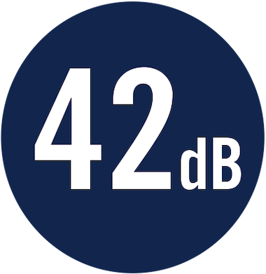 42 dB