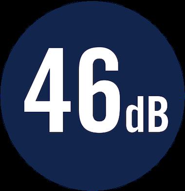 46 dB
