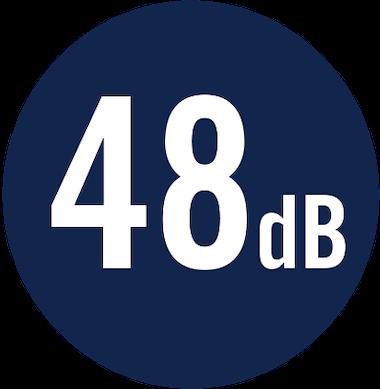 48 dB