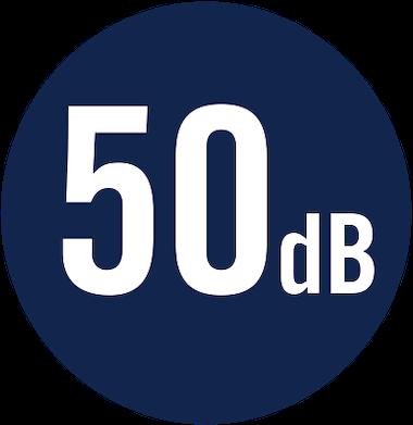 50 dB