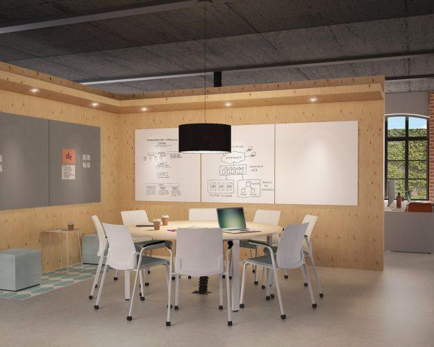 72. Mesas de reunión FrameFour -3